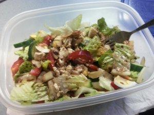 My homemade salad
